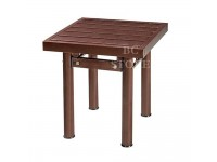 Stainless Steel Metal Bench Table for Indoor or Outdoor Home