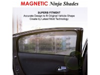 Honda Jazz 2015-2018 Magnetic Ninja Sun Shade Sunshade UV Protection