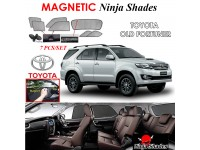 TOYOTA Old Fortuner Magnetic Ninja Sun Shade Sunshade UV Protection