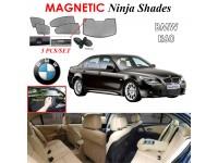BMW E60 Magnetic Ninja Sun Shade Sunshade UV Protection 5pcs