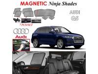 AUDI Q5 Magnetic Ninja Sun Shade Sunshade UV Protection 7pcs