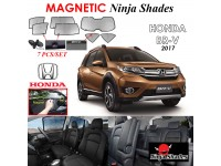 HONDA BR-V 2017 Magnetic Ninja Sun Shade Sunshade UV Protection 7pcs