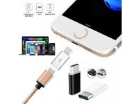 4 Pcs USB C Adapter to Micro USB Sync & Charge Type C for SAMSUNG Apple MacBook Google