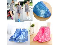 Reusable Rain Shoe Cover FLAT Base Waterproof Overshoes Anti-slip Rain Boot Protector Raincoat