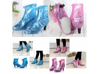 Reusable Rain HIGH HEEL Cover Waterproof Overshoes Anti-slip Rain Boot Protector Raincoat