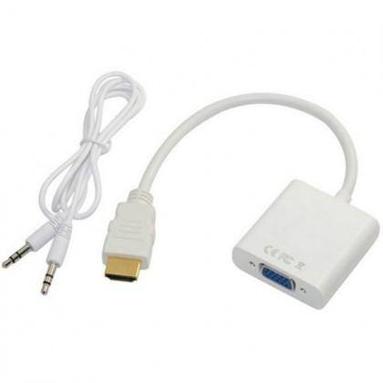 HDMI To VGA Adapter Cable - Segiempat