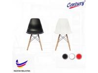 4 SET Century Classic Premium Chair /Dining Chair c/w Dowel Wood Eiffel Legs / Kerusi Makan / Kerusi Pejabat
