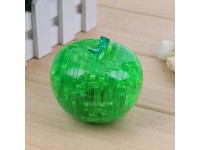 3D Crystal Puzzle Jigsaw Apple Shaped Building Blocks Educational Toys