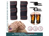 1 PAIR Tourmaline Self Heating Knee Pads Magnetic Knee Support Pain Relief - Pelekat Sakit Lutut