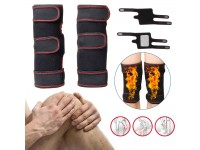 1 PAIR Tourmaline Self Heating Knee Pads Magnetic Knee Support Pain Relief - Pelekat Sakit Lutut