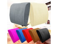 Memory Foam Lumbar Back Support Pillow Sciatica & Pain Relief Seat Office Chair