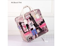 CLASSIC Hello Kitty Cartoon Travel Tote Hand Bag Luggage Tote for Adult & Kids