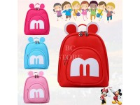 Minnie Mickey Mouse Backpack Bag Mini for Kindergarten Boys Girl Kids Beg Galas
