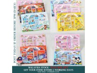 Kids Set Stationery Stationary for Birthday Gift 42pcs - Set Alat Tulis Pencil