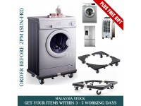 STRONG Fridge Base Kitchen Washing Machine Stand with Wheel Roller Movable Roda