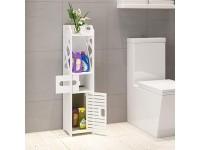 Toilet Storage Cabinet Bathroom Waterproof Shelf : Romantic Paris
