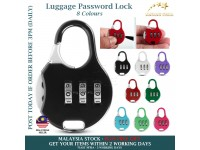 Mini Luggage Padlock 3 Digit Combinations Safe Cipher Lock Code Lock Color Locks