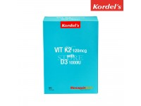 Kordel's Vit K2 120mcg With D3 1000IU 60 Softgels (Expiry: 08/2020)