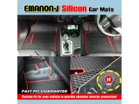 HONDA CIVIC 2017 EMANON-J Silicon Car Floor Mats Waterproof Carpet 5 Pcs