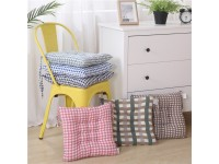 Plaid Printed Thicker Soft Comfortable Tatami Cotton Seat Chair Cushion Winter for Home Office School Car