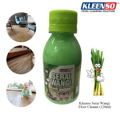 Kleenso Serai Wangi Liquid Floor Cleaner Wax Pest Repellent Ant Mosquito Dengue 120ml