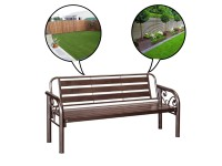 "5"" Bench Chair / Metal Long Bench / Outdoor Bench Chair / Garden"