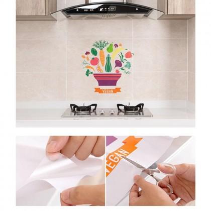 Kitchen Anti-Oil Waterproof Transparent Sticker Self-Adhesive