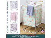 Home Laundry Basket Bathroom Waterproof Folding Fabric Organizer Toy Storage Bucket